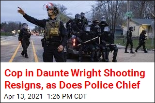 Police Chief, Officer Who Shot Daunte Wright Resign