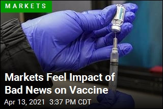 Markets Feel Impact of Bad News on Vaccine