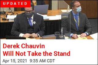 Chauvin Won't Take Stand as His Defense Rests
