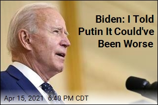 Biden Promises 'Further Actions' If Russia Hacks Again