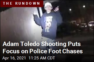 Adam Toledo Shooting Puts Focus on Police Foot Chases
