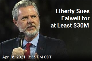 Liberty Sues Falwell Over Moral Breaches