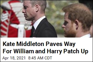 Kate Middleton Paves Way For William and Harry Patch Up