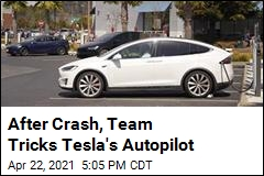 After Crash, Team Tricks Tesla's Autopilot