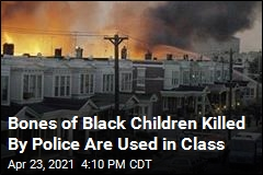Bones of Black Children Killed By Police Are Used in Class