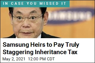 Samsung Heirs to Pay Truly Staggering Inheritance Tax