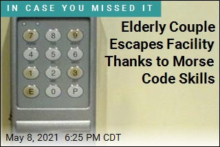 Elderly Couple Escapes Facility Thanks to Morse Code Skills