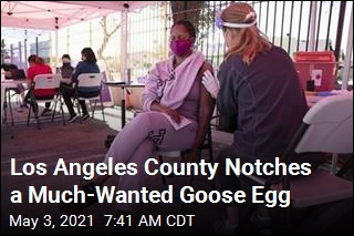 Los Angeles County Notches a Much-Wanted Goose Egg