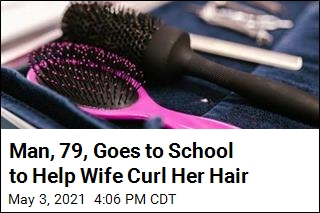 Man, 79, Goes to School to Help Wife Curl Her Hair