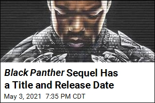 Black Panther Sequel Has a Title and Release Date