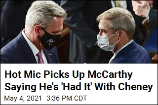 McCarthy's Plans for Cheney Inadvertently Become Clearer