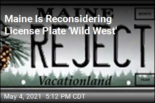 Maine Rethinks Decision to Stop Vetting Vanity Plates
