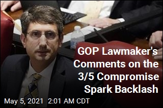 GOP Lawmaker's Comments on the 3/5 Compromise Spark Backlash