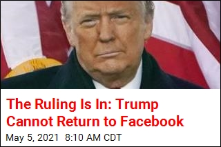 The Ruling Is In: Trump Cannot Return to Facebook