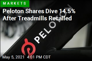 Peloton Shares Dive 14.5% After Treadmills Recalled