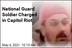 National Guard Soldier Charged in Capitol Riot
