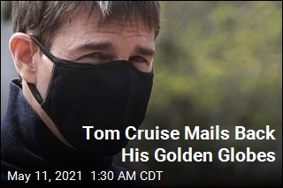 Tom Cruise Reportedly Mails Back All His Golden Globes