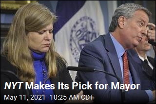 NYT Makes Its Pick for Mayor