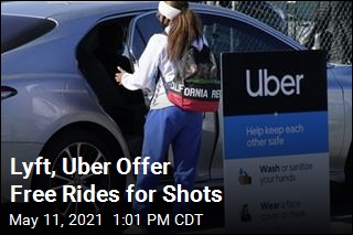 Lyft, Uber Offer Free Rides for Shots