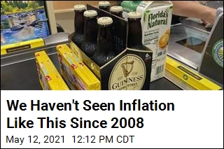 We Haven't Seen Inflation Like This Since 2008