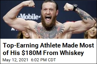 With $180M, McGregor Tops List of Highest-Paid Athletes