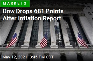 Dow Drops 681 Points After Inflation Report
