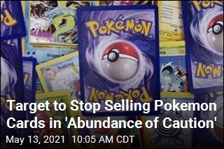 Target to Stop Selling Pokemon Cards in 'Abundance of Caution'