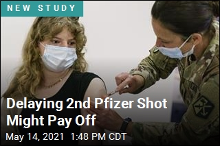 Delaying 2nd Pfizer Shot Might Pay Off