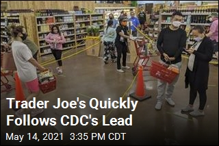 Trader Joe's Quickly Follows CDC's Lead