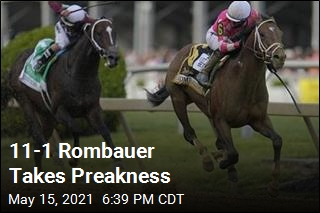 No Triple Crown This Year: Rombauer Wins Preakness