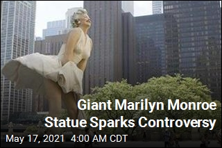 Giant Marilyn Monroe Statue Is Back, Still Controversial