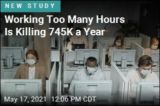 Working More Than 55 Hours a Week Is a Major Health Hazard