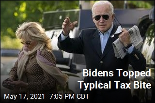 Bidens Topped Typical Tax Bite