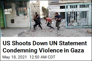 US Vetoes UN Statement Condemning Violence in Gaza