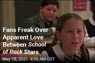 Fans Freak Over Apparent Love Between School of Rock Stars