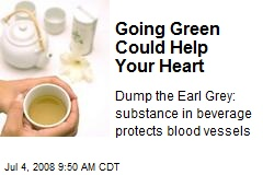 Going Green Could Help Your Heart