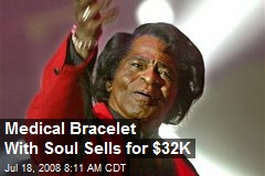 Medical Bracelet With Soul Sells for $32K