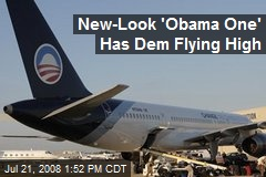 New-Look 'Obama One' Has Dem Flying High