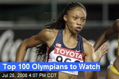 Top 100 Olympians to Watch