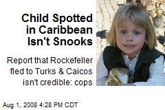 Child Spotted in Caribbean Isn't Snooks