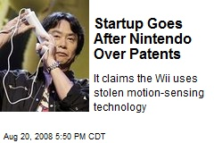 Startup Goes After Nintendo Over Patents