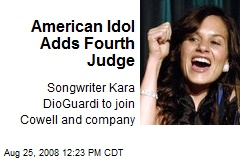 American Idol Adds Fourth Judge