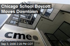 Chicago School Boycott Moves Downtown