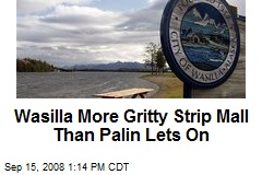 Wasilla More Gritty Strip Mall Than Palin Lets On