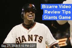 Bizarre Video Review Tips Giants Game