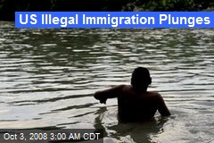 US Illegal Immigration Plunges