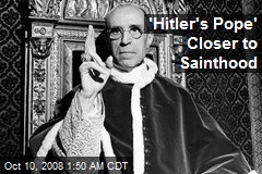 'Hitler's Pope' Closer to Sainthood