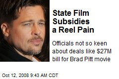 State Film Subsidies a Reel Pain