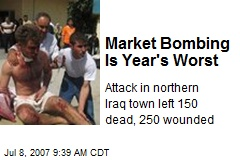 Market Bombing Is Year's Worst
