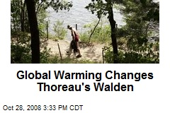 Global Warming Changes Thoreau's Walden